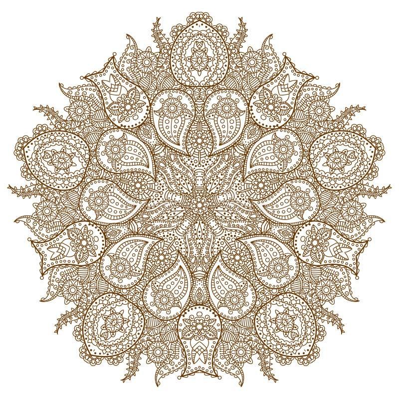 坛场 种族装饰圆的样式 背景被画的现有量 皇族释放例证