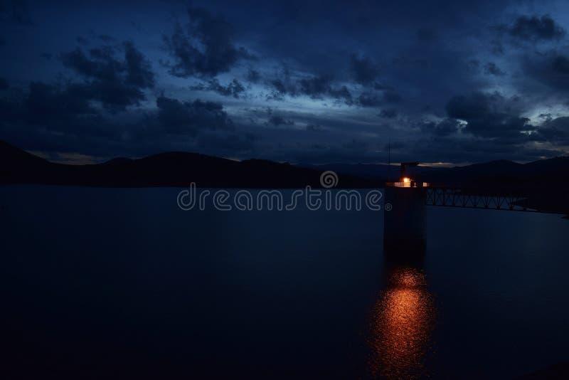 水坝照片 免版税库存照片