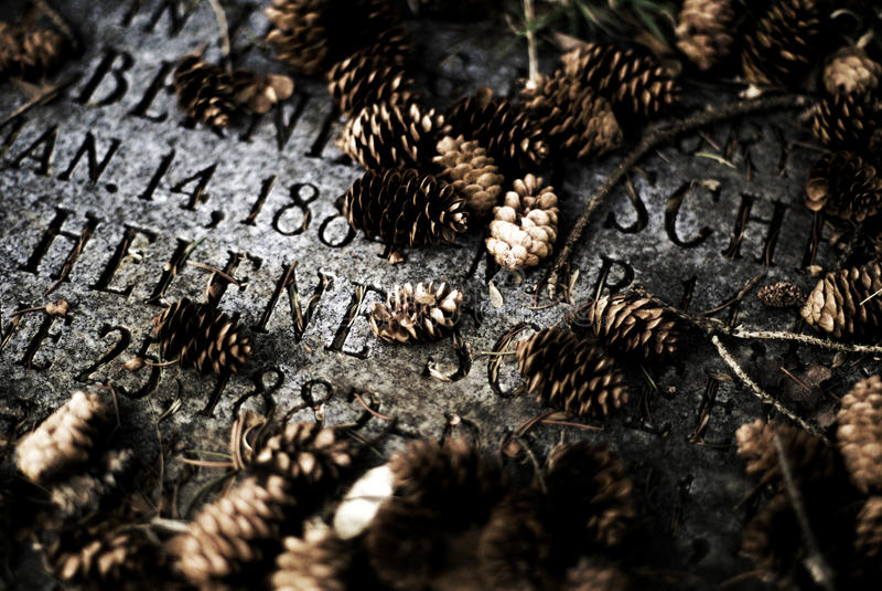 坟墓 免版税图库摄影