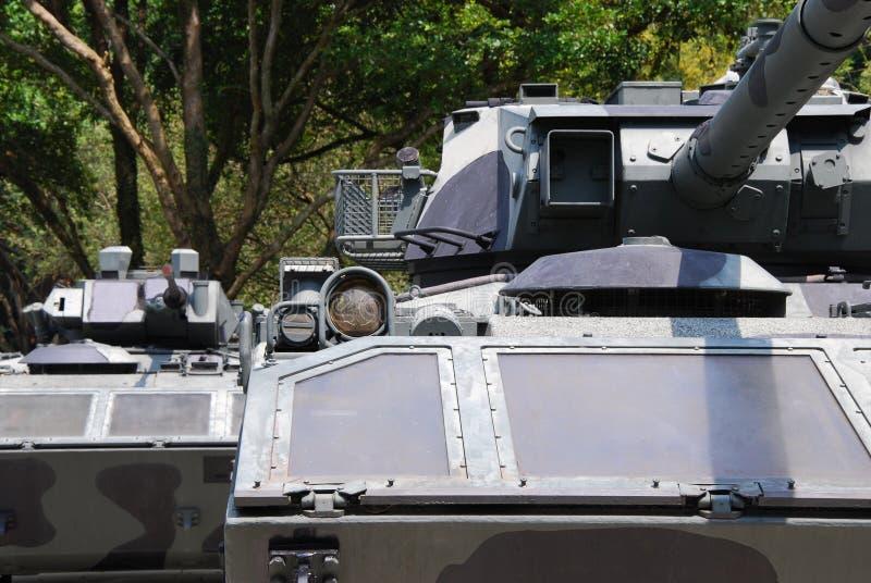 坦克专栏 库存图片