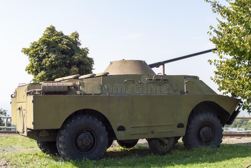 坦克军车 免版税库存照片