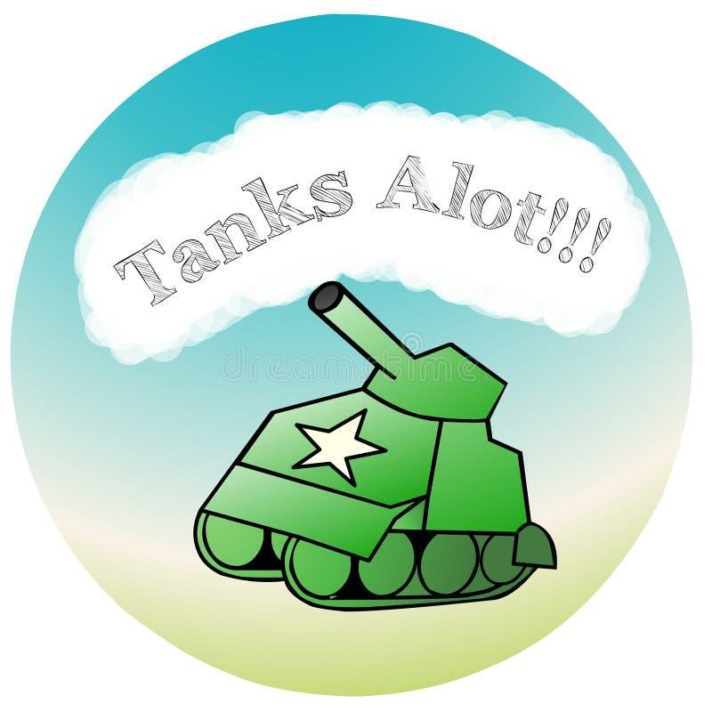 坦克阿洛特 免版税库存照片