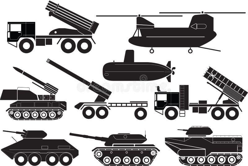 坦克 库存例证