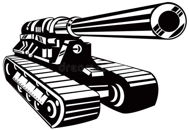 坦克 向量例证
