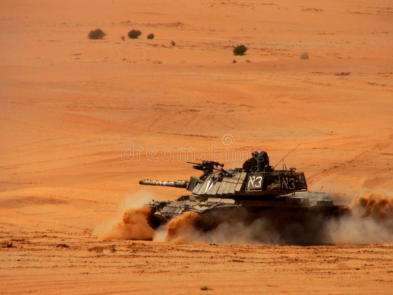 坦克 免版税库存照片