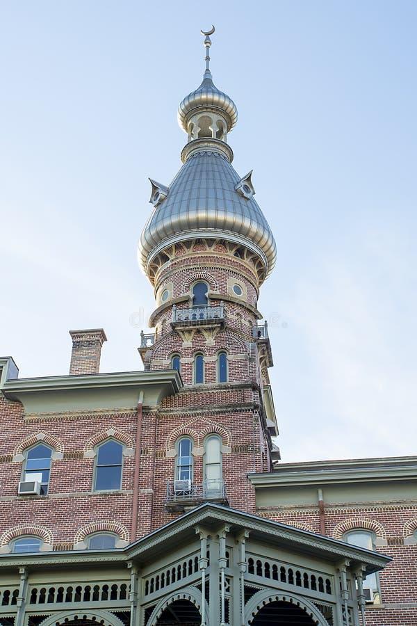 坦帕大学和亨利B厂博物馆 库存图片