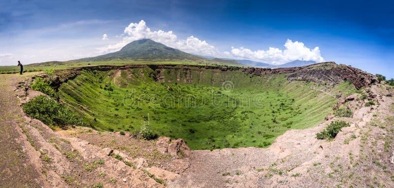 坦桑尼亚风景 库存照片