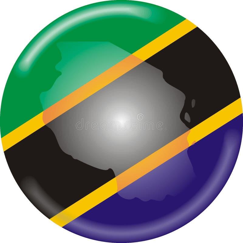 坦桑尼亚 向量例证
