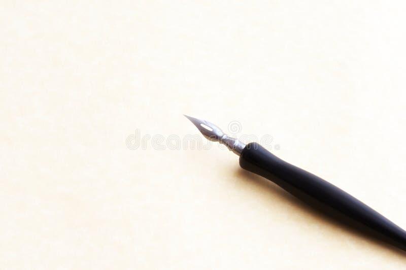 垂度墨水笔 库存照片