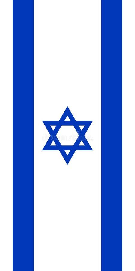 垂悬的垂直的旗子 向量例证
