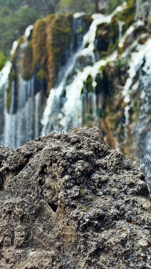 垂悬的湖远足 图库摄影