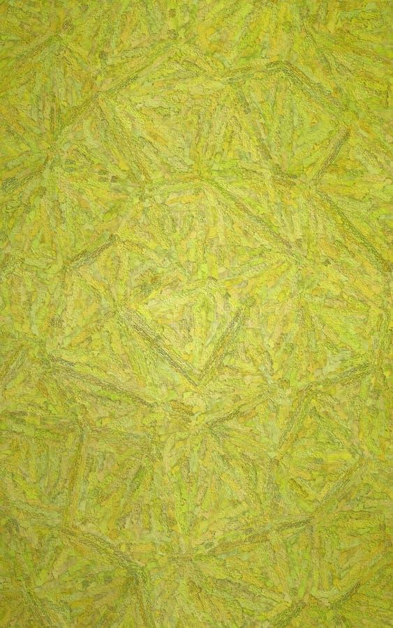 垂直的黄色织地不很细Impasto背景的例证 向量例证