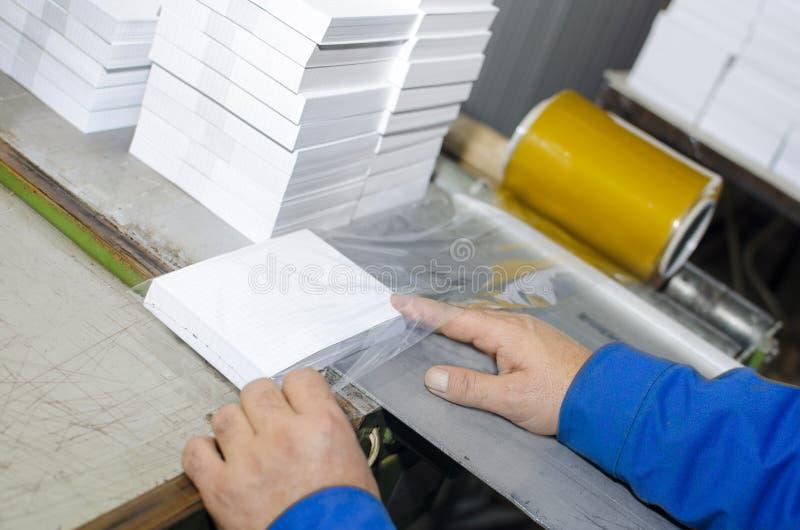 垂距印刷品植物手工工作 免版税库存照片