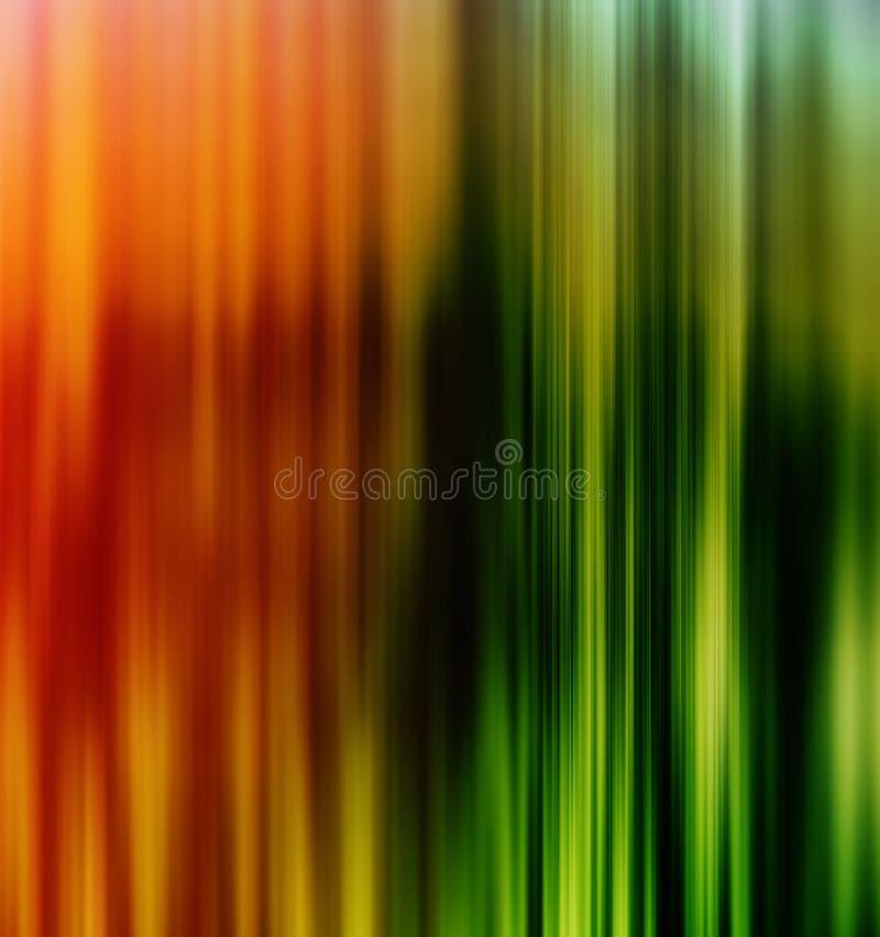 垂直的生动的橙色绿线企业介绍 库存图片