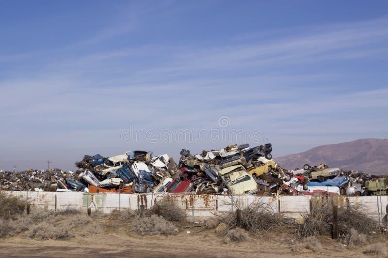 垃圾场 库存照片