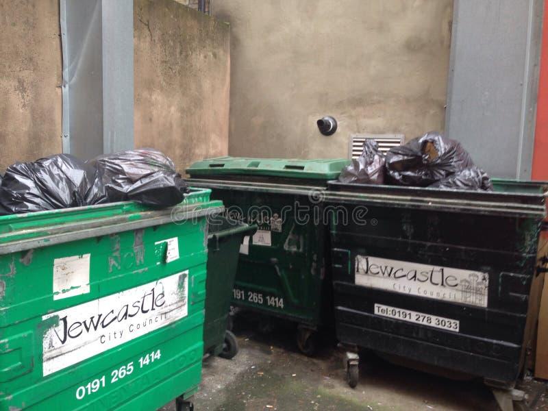 垃圾容器 库存图片
