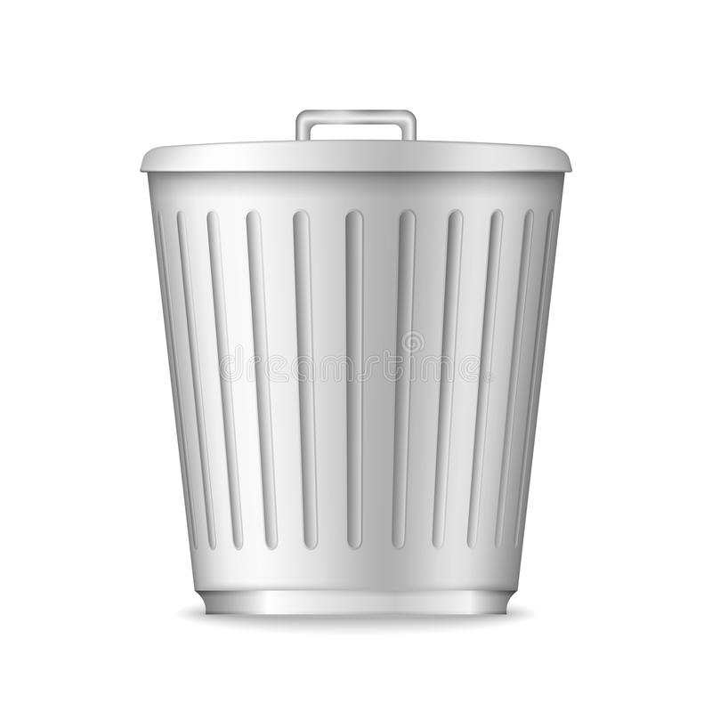 垃圾箱 库存例证