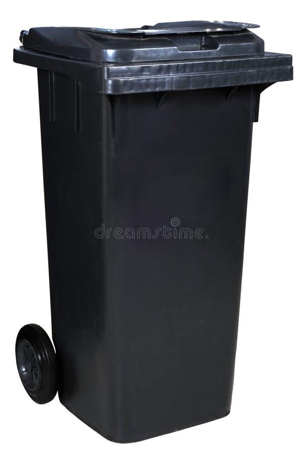垃圾箱 免版税库存照片