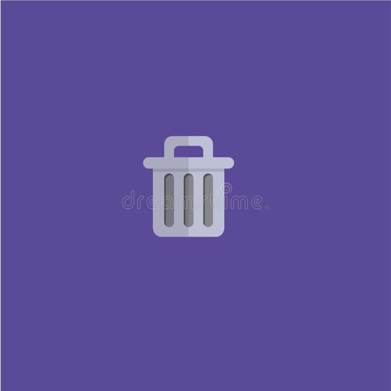 垃圾象传染媒介例证 免版税库存图片