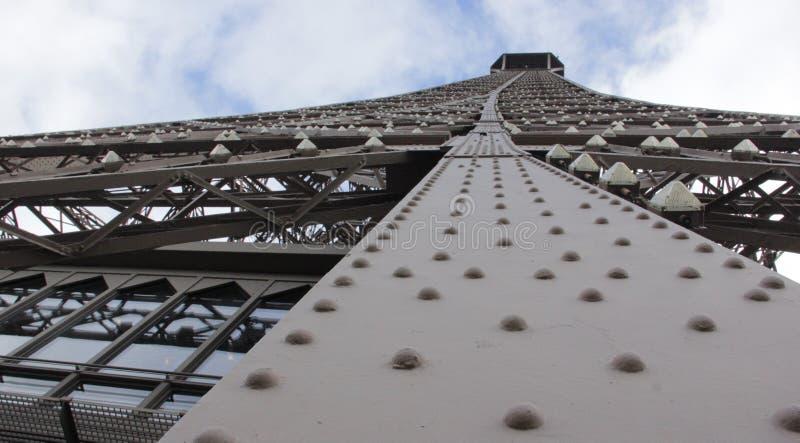 埃佛尔铁塔工程学 库存图片