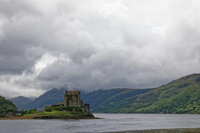埃利安多南城堡-多尼,苏格兰 免版税库存照片