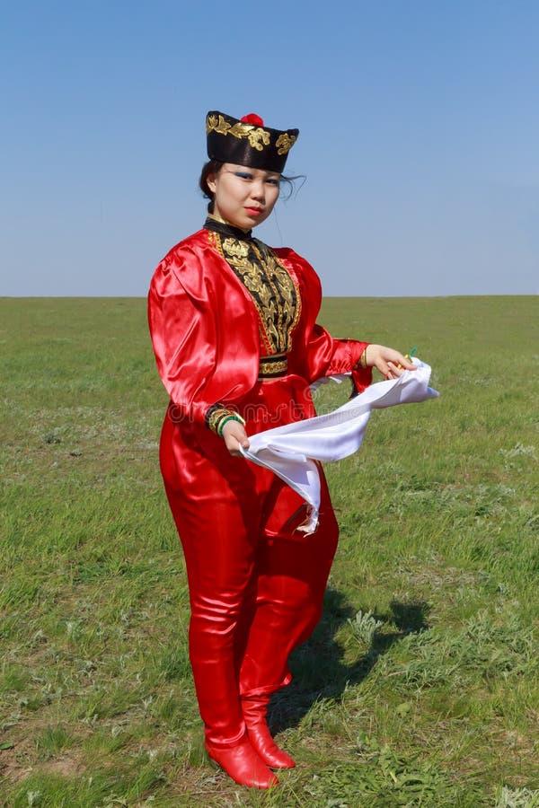 埃利斯塔 郁金香节日 艺术家民间传说合奏 库存图片