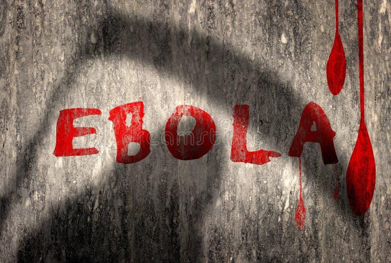 埃博拉病毒 库存例证