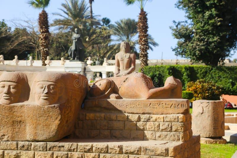 埃及上古博物馆-埃及 免版税库存照片