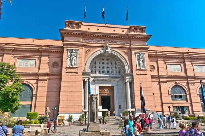 埃及上古博物馆 图库摄影