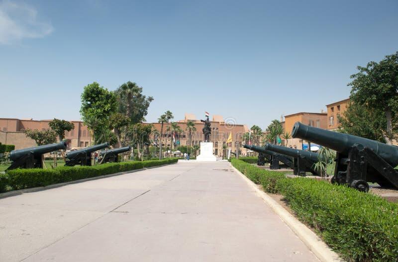 埃及全国军事博物馆 免版税库存图片
