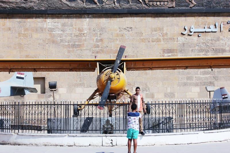 埃及军事博物馆 库存图片