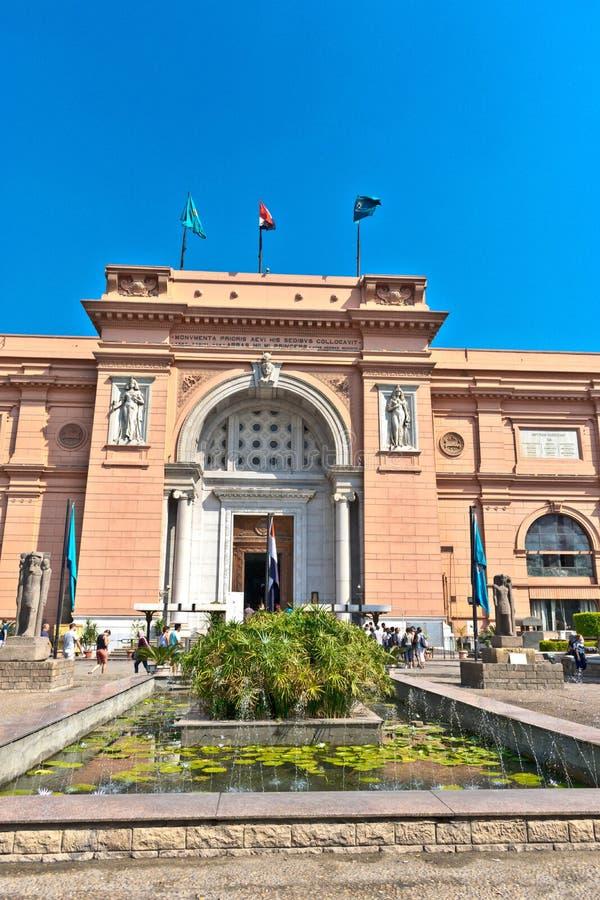 埃及博物馆在开罗 库存照片