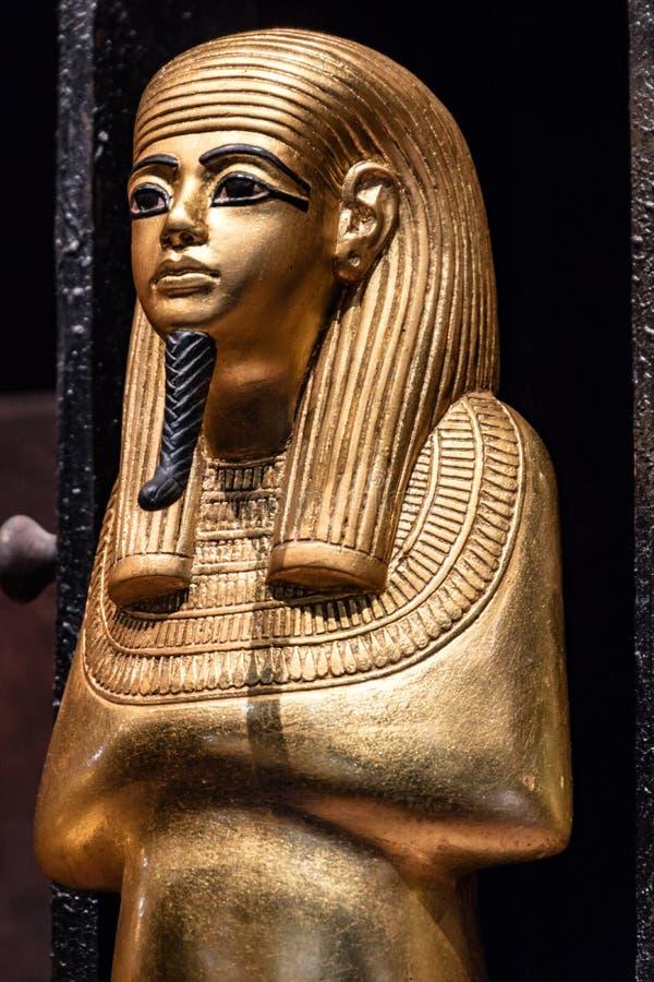 从埃及博物馆的细节 免版税库存照片