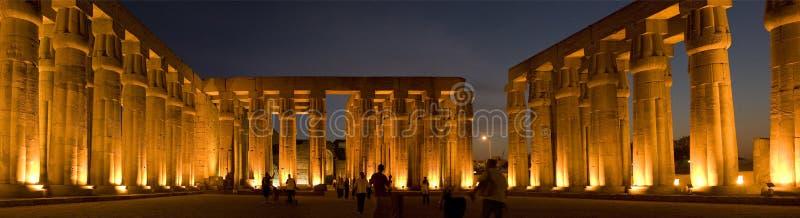 埃及卢克索寺庙 库存照片