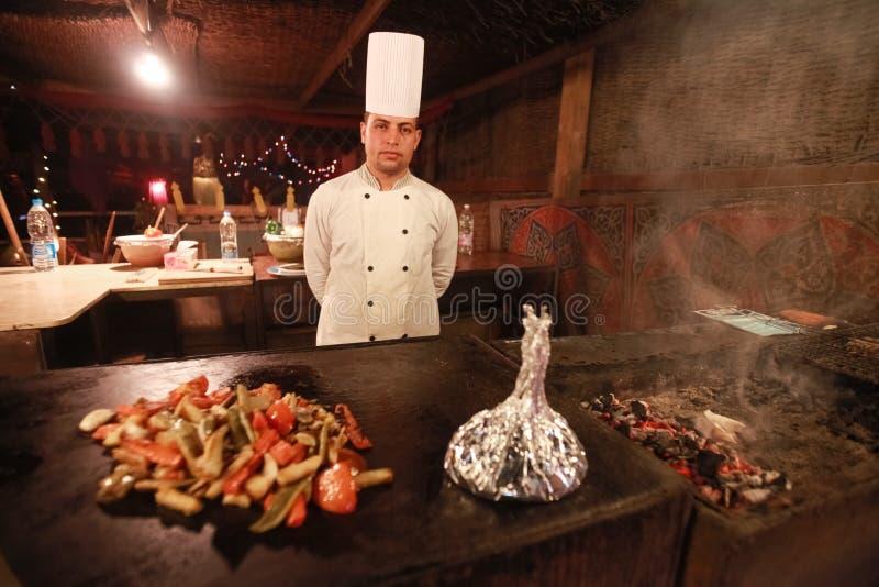 埃及厨师 图库摄影