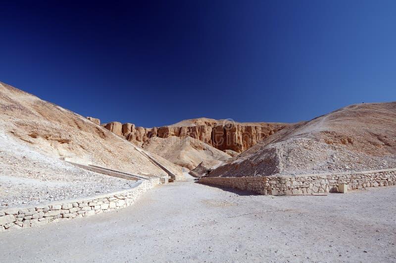 埃及国王谷 免版税图库摄影