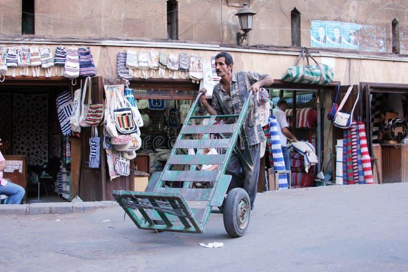 埃及工作者 库存照片