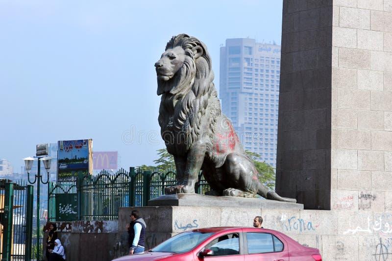 埃及开罗街道视图 库存照片