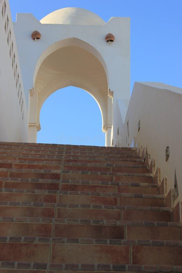 埃及式大厦和结构 图库摄影