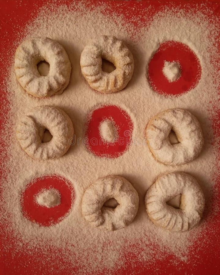 埃及曲奇饼 图库摄影