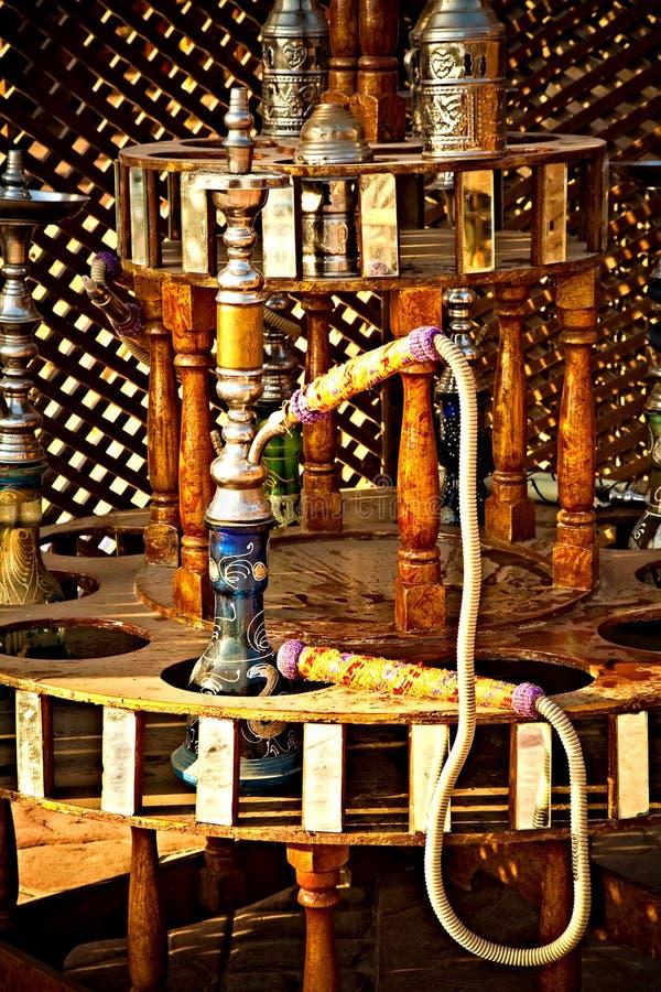 埃及水烟筒 库存图片