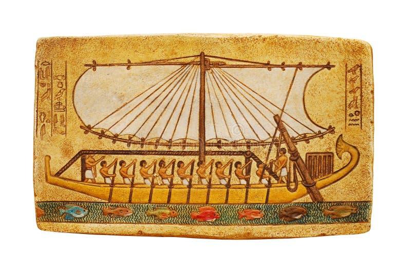 埃及绘画 免版税库存图片
