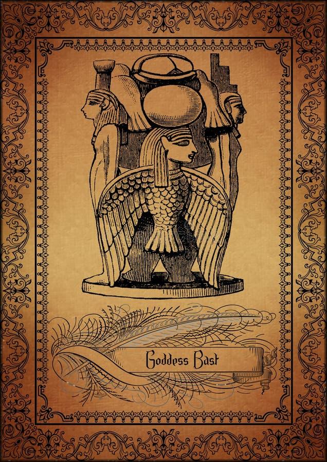 埃及羊皮纸 向量例证