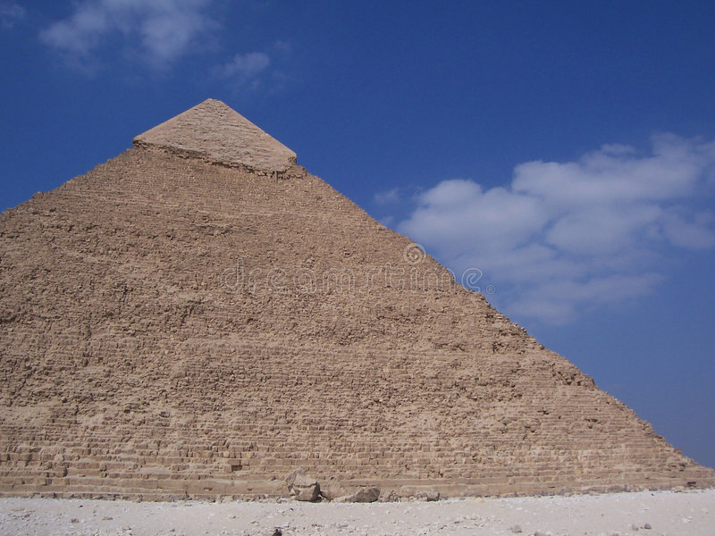 埃及金字塔 免版税图库摄影