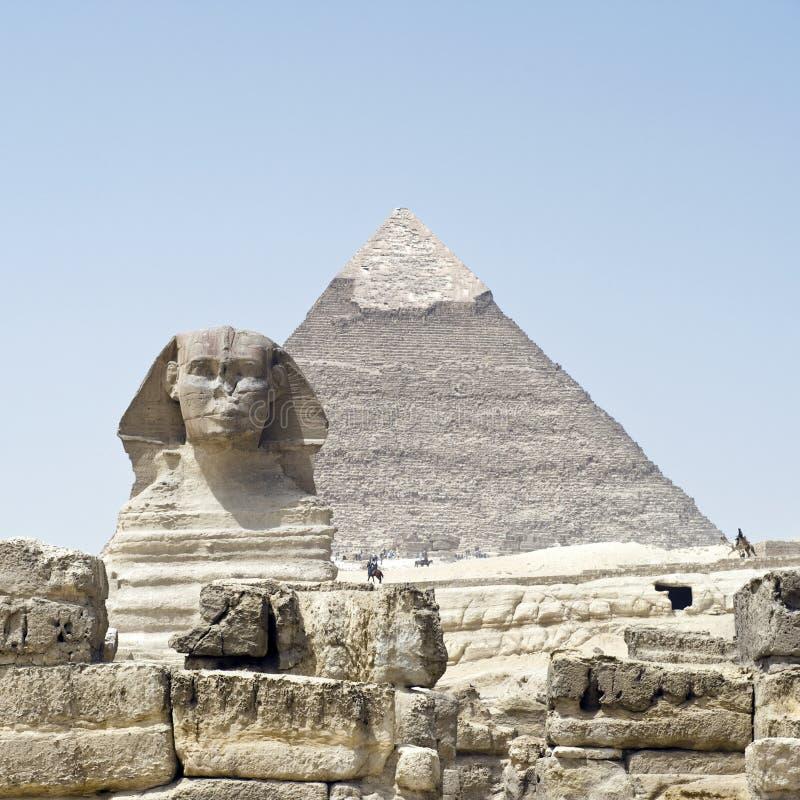 埃及,金字塔 免版税图库摄影
