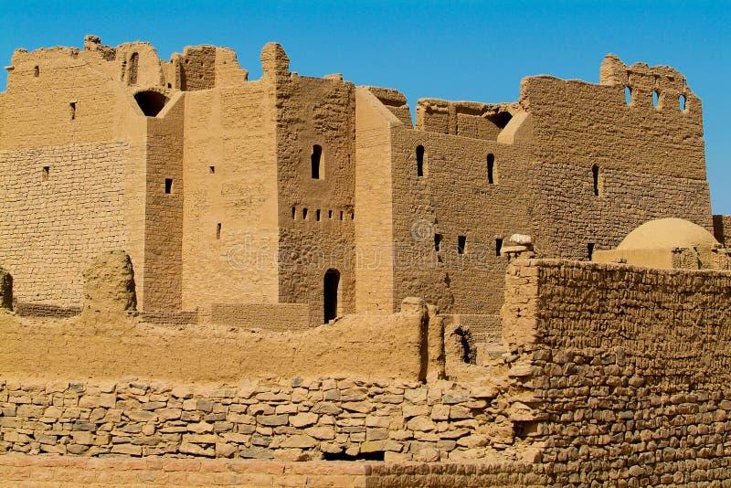 埃及-圣西梅昂修道院  库存照片
