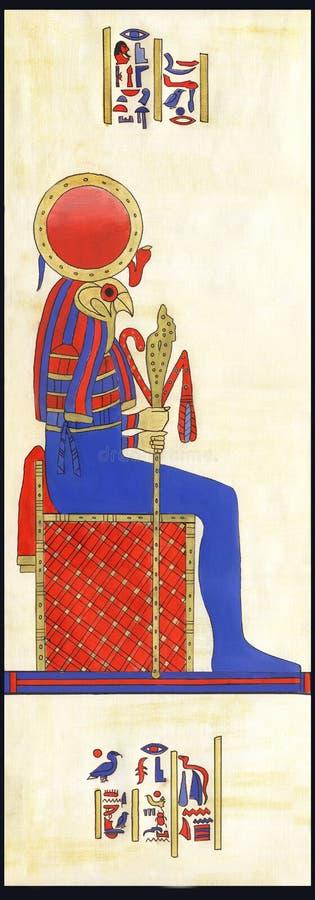 埃及 皇族释放例证