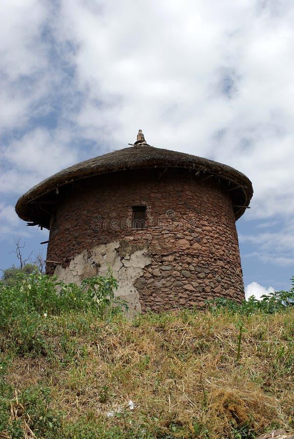 埃塞俄比亚小屋 图库摄影