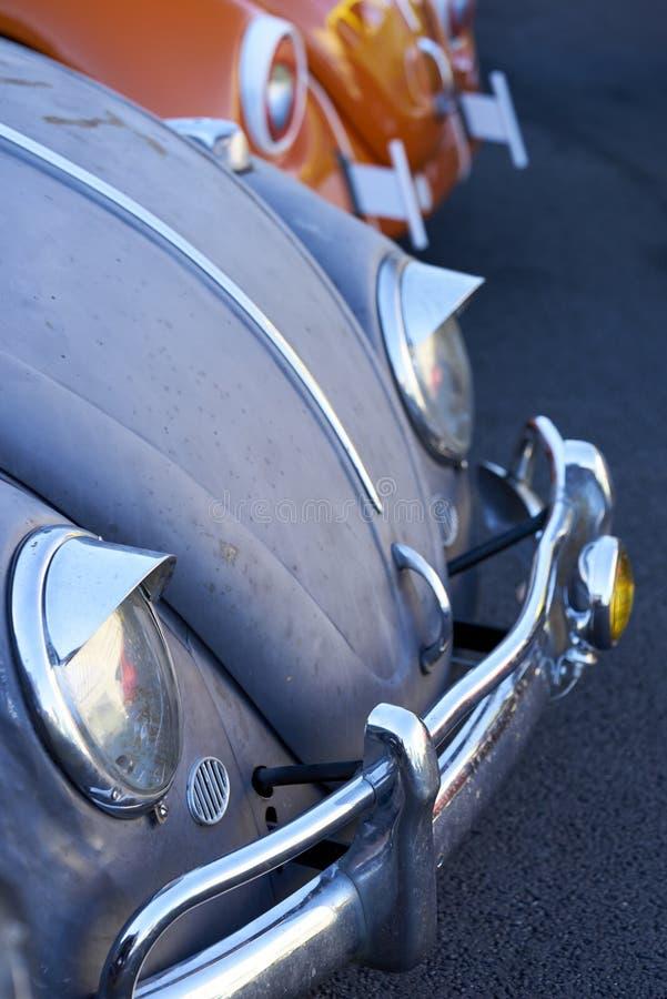 埃尔卡洪, CA/USA - 2016年9月14日:Cajon经典巡航是南加州车展举行的每周4月- 10月 免版税图库摄影