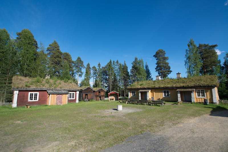 埃尔沃吕姆,挪威 免版税图库摄影